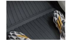 Genuine Volvo XC60 (18-) Rubber Floor Mats (RHD Automatic Colour: Charcoal)